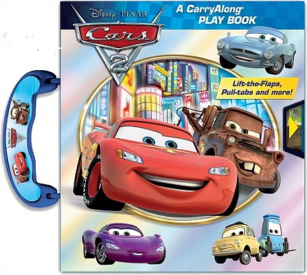Cars 2 Carryalong Play Book By Stierle, Cynthia